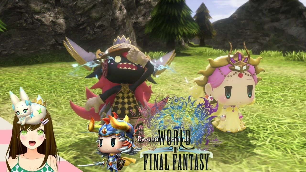 World Of Final Fantasy Goblin Princess Boss Warrior Of Light Interven Final Fantasy Goblin Fantasy