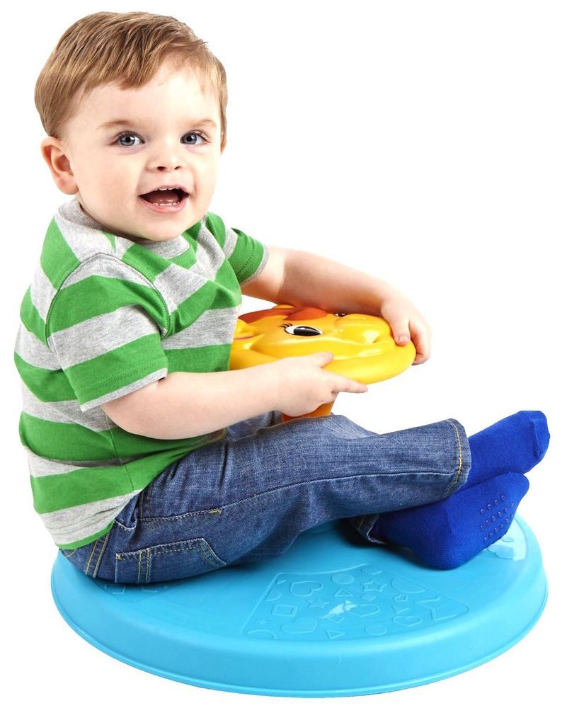 Toddler Spinning Toy Baby Kids Sit N Spin Giraffe