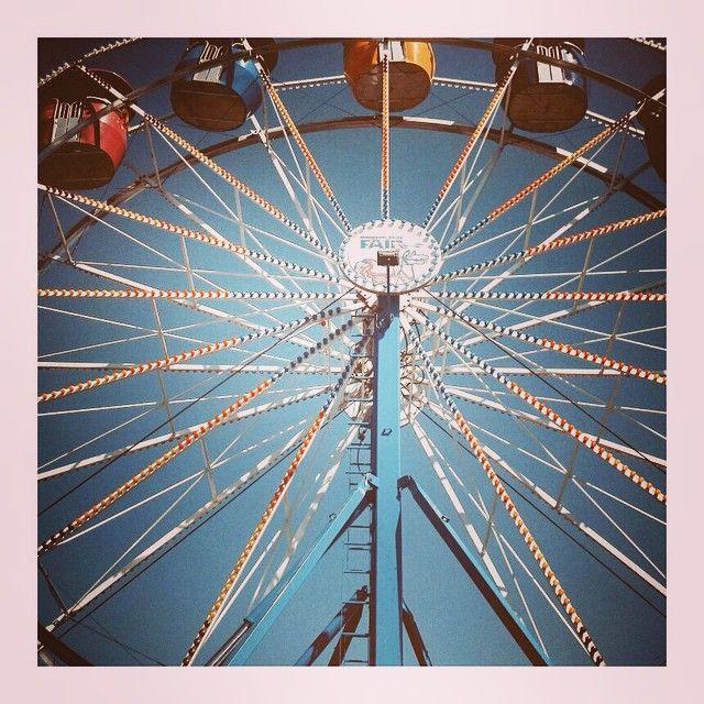 """#Minnesota #statefair #ferriswheel #heights #safetyfirst"" Photo taken by @marybeth414 on Instagram, pinned via the InstaPin iOS App! http://www.instapinapp.com (05/29/2015)"