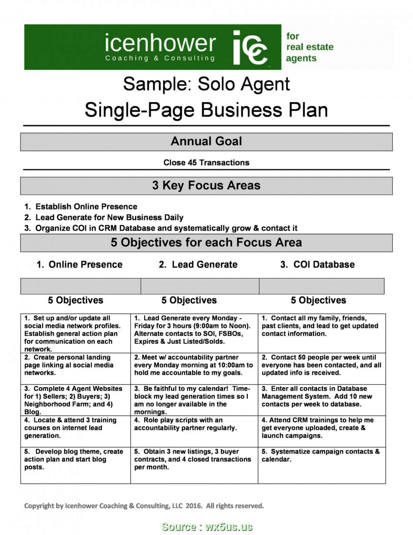 5 Page Business Plan Template 031 Year Business Plan Strategic Template Beauti Real Estate Business Plan Real Estate Agent Business Plan Business Plan Template