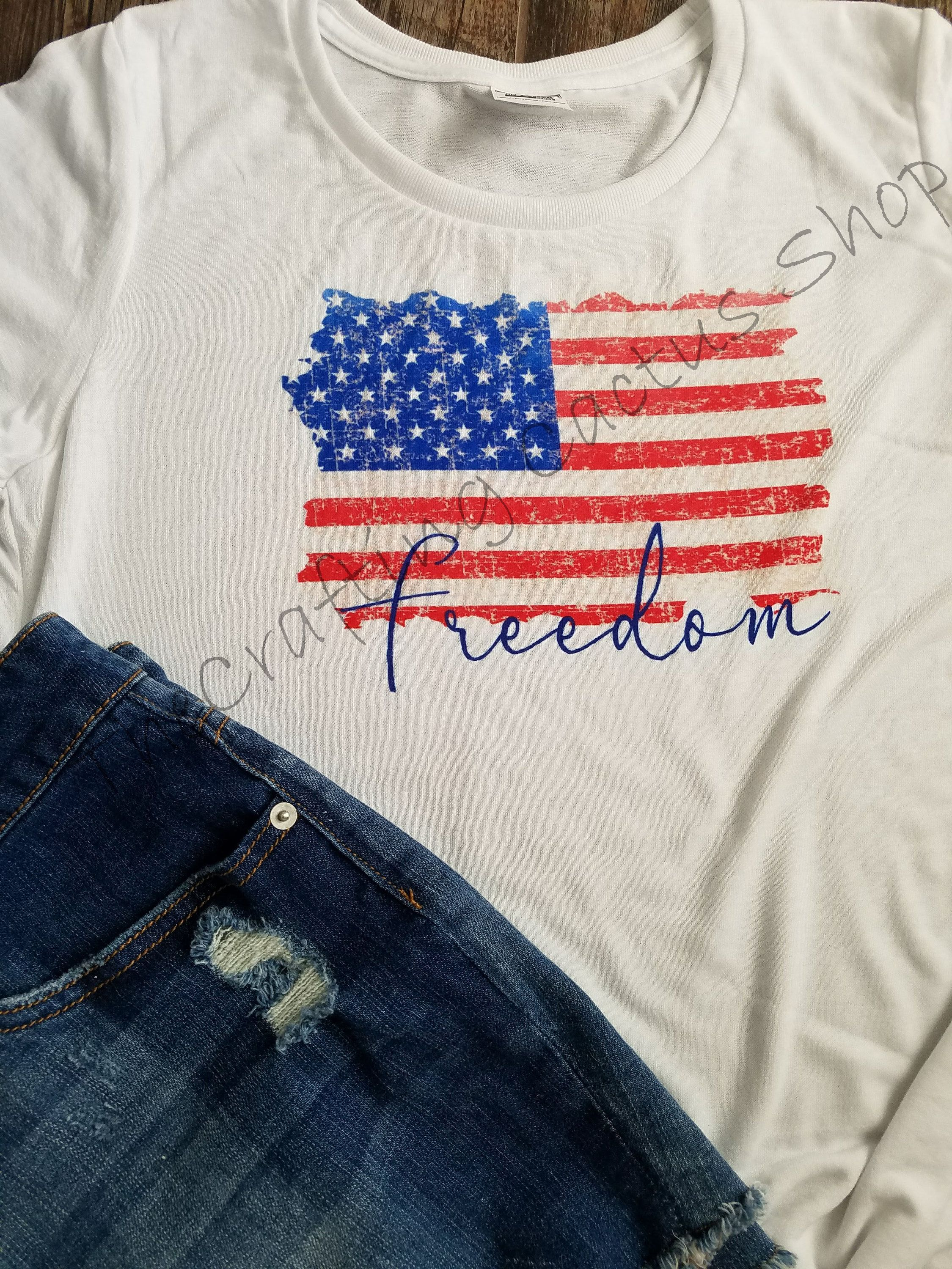 Distressed American Flag T Shirt Patriotic T Shirt 4th Of July Tee Fourth Of July Sublimation Fourth Of July Shirts Patriotic Tshirts American Flag Tshirt