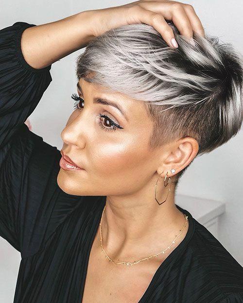 50 Chic Short Bob Hairstyles Haircuts For Women In 2019 Mit Bildern Frisuren Kurzhaarfrisuren Kurze Haare Frisur Ideen