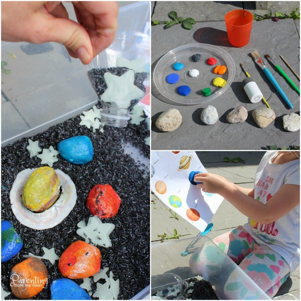 Promote Play Based Learning With This Fun Solar System For