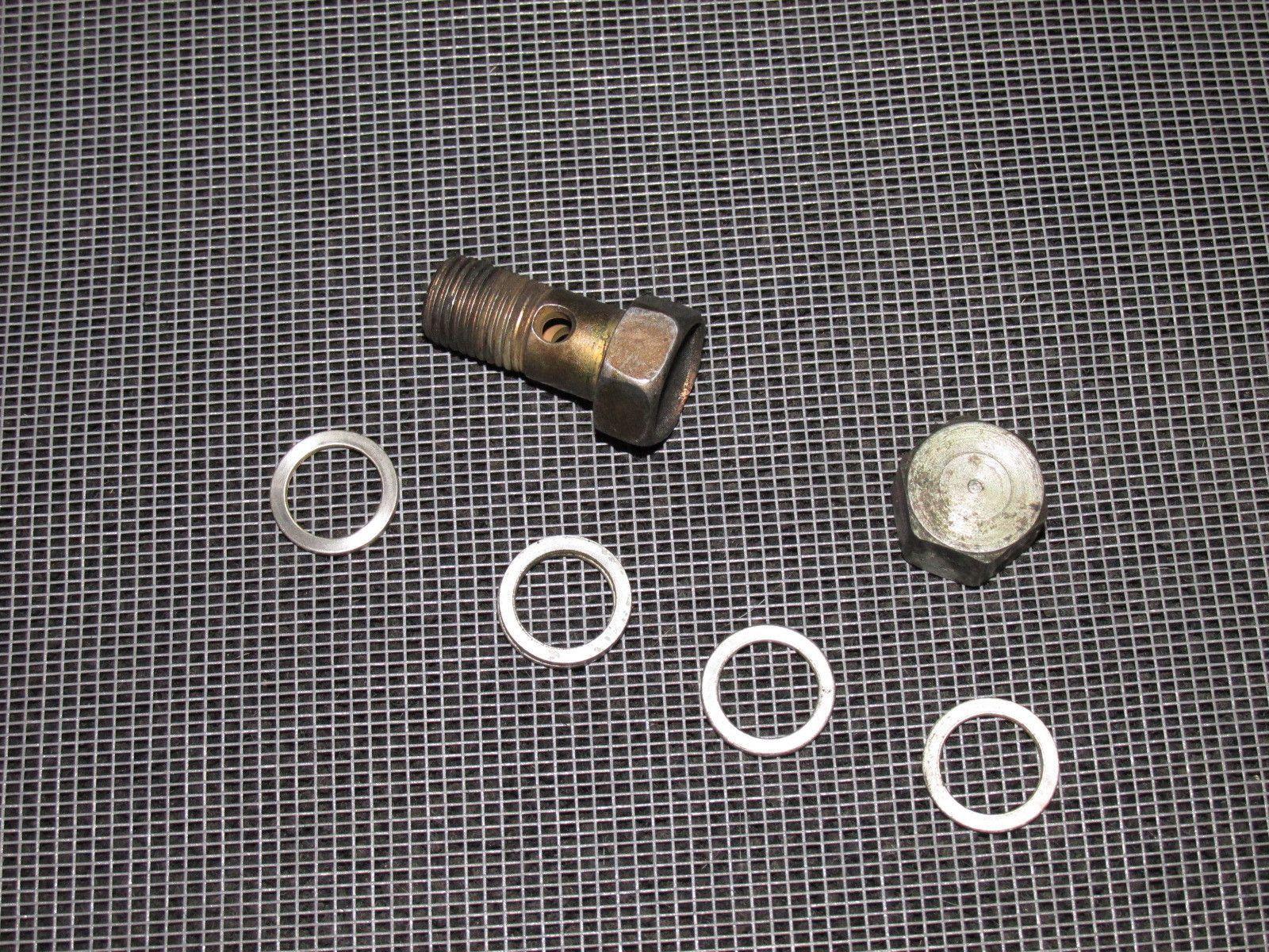 96 97 98 99 00 honda civic oem fuel filter line banjo bolt [ 1600 x 1200 Pixel ]