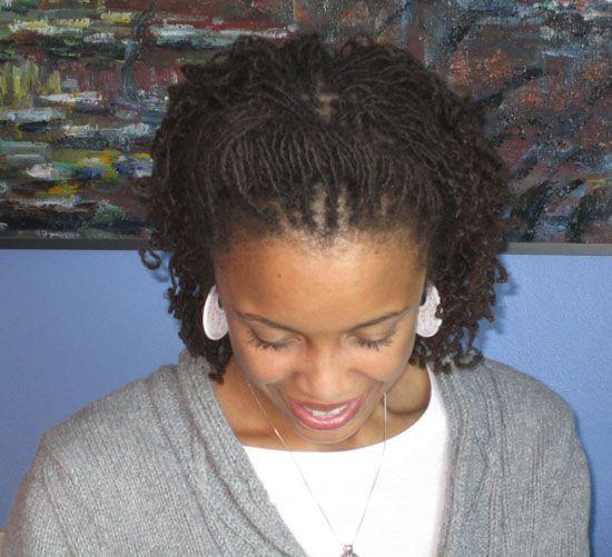 Sisterlocks Hairstyles Short Sisterlock Styles Hair Styles Roll Hairstyle Sister Locks Hairstyles