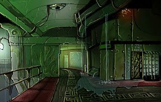 Research Diary: Bioshock - Environment concet art