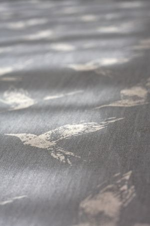 Bollin Bird in Dew Blue Linen