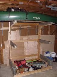 Resultado De Imagen Para Canoe Rack For Garage