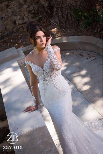 Zavana Bridal, Clarinda, ZB116, Vintage lace, Long sleeves