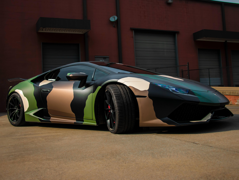 Camo Wrapped Lamborghini Huracan Camo Car Camo Wraps