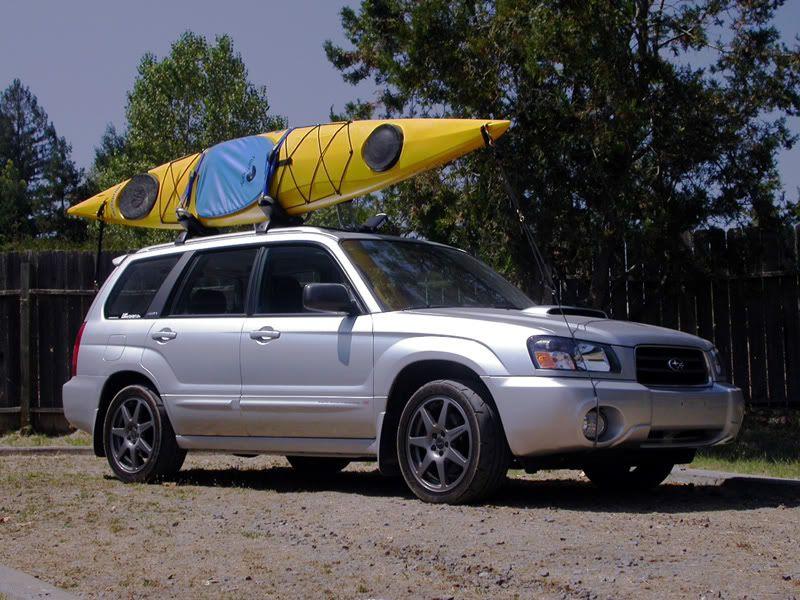 kayak carrier subaru forester subaru
