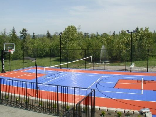 Multi-Use Game Courts - Home and Garden Design Idea's