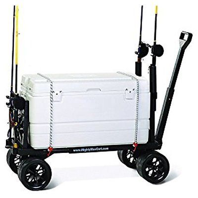 buy new pro fishing cart rolling tackle box rod holder berkley at online store