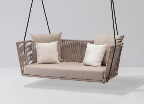 designermobel ideen monica armani, kettal bitta swing gartensofa / hollywoodschaukel | balkon & garten, Möbel ideen