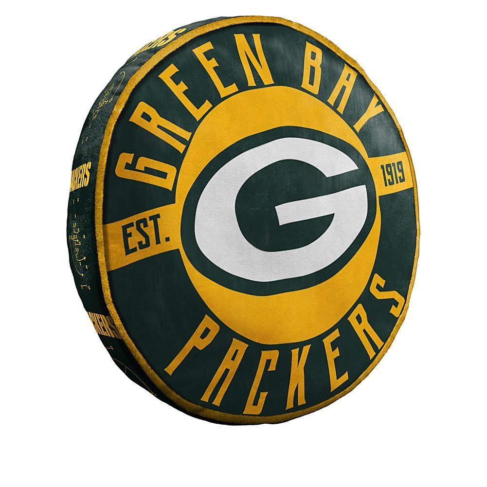 Officially Licensed Nfl 15 X 15 Round Team Logo Pillow Packers 9298731 Hsn In 2020 Green Bay Packers Vintage The Northwest Company Cloud Pillow