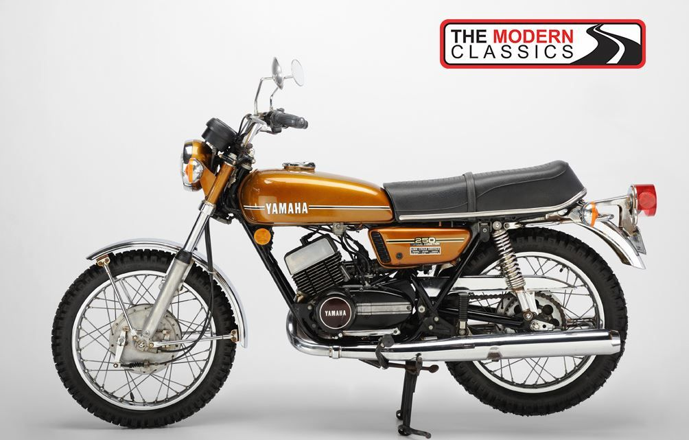 1974 Yamaha Rd250 Or As I Like To Call My Orange And White 350