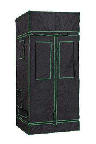 DLS Mylar Hydroponic Grow Tent with Observation Window and Floor Tray for Indoor Plant Growing  sc 1 st  Pinterest & Cheap Hydro Crunch Hydroponic Grow Tent 48 x 48 x 80 https ...
