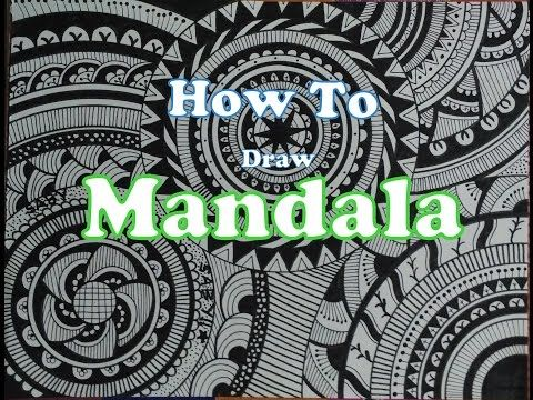 Easy Doodle Art Designs : How to draw complex mandala art design for beginners easy tutorial