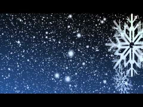 Windows Rotating Wallpaper Fall Gently Falling Snow Video Loop With Rotating Snowflake