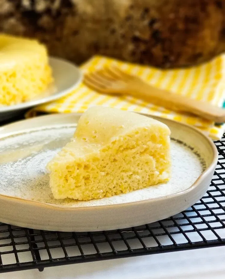 Steamed Condense Milk Cake No Oven Needed Recipe In 2020 Condensed Milk Cake Milk Cake Food