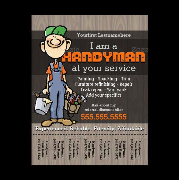 13 best handyman flyer templates designs free premium