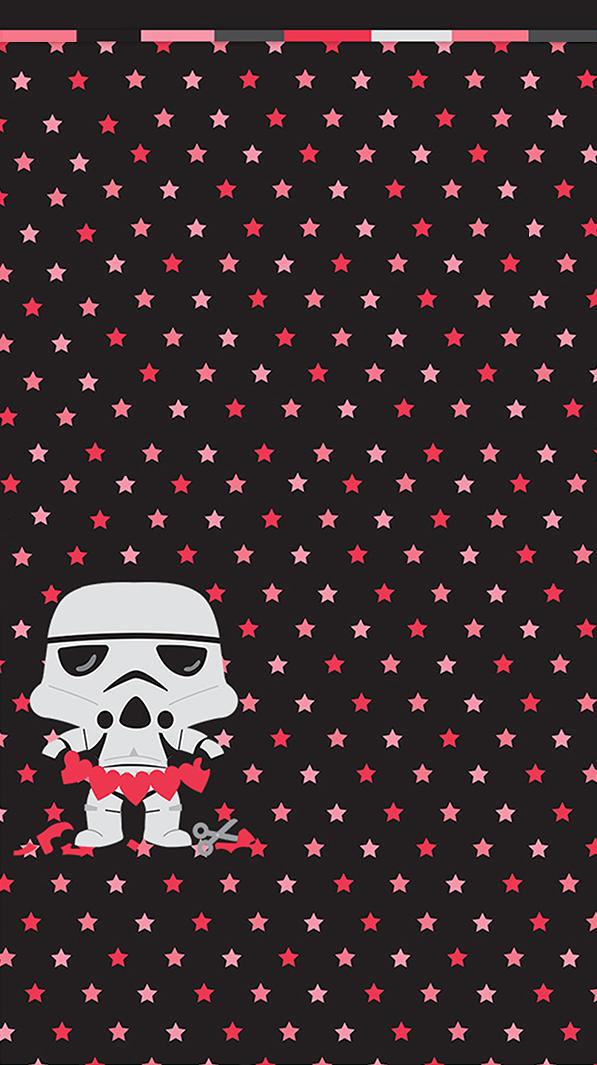 Stormtrooper Valentine Wallpaper Valentines Wallpaper Valentines Wallpaper Iphone Star Wars Wallpaper