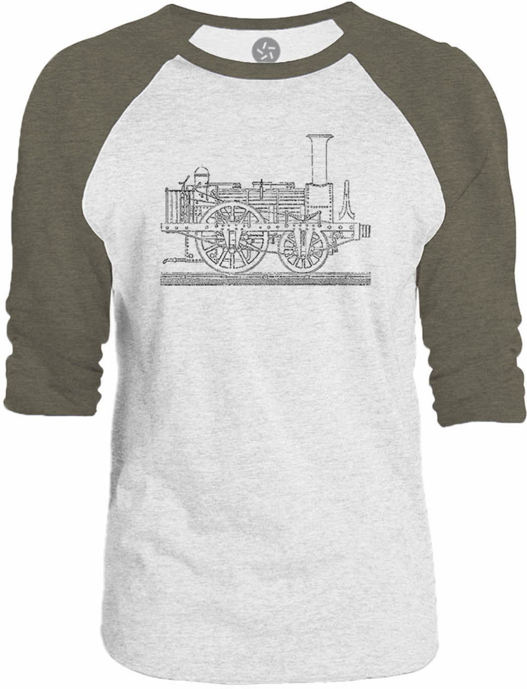 Big texas steam tram blueprint 34 sleeve raglan baseball t shirt big texas steam tram blueprint 34 sleeve raglan baseball t shirt malvernweather Choice Image