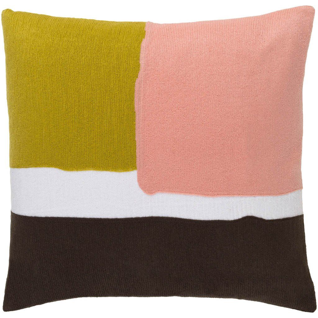 Harvey GoldPastel PinkChocolate Pillow Pink chocolate Pillows