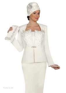 Bridal Skirt Suits Ben Marc 47142 Off White Rhinestone Evening Wedding Church Dress Suit