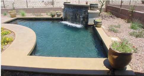 Best Swimming Pool Shapes For Small Spaces Shasta Pools Spas Cool Swimming Pools Pool Shapes Small Pools