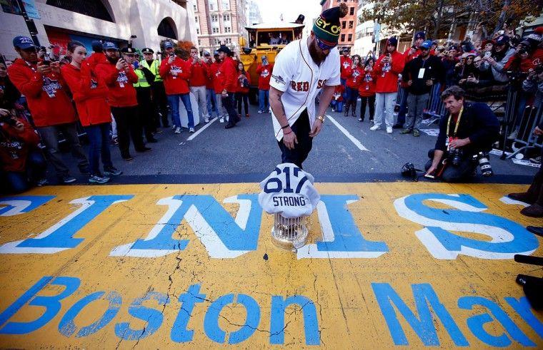 Boston celebrates with World Series victory parade