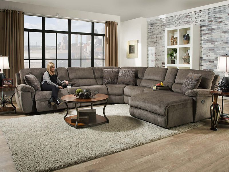 Reilly Power Collection by Corinthian : corinthian sectional - Sectionals, Sofas & Couches