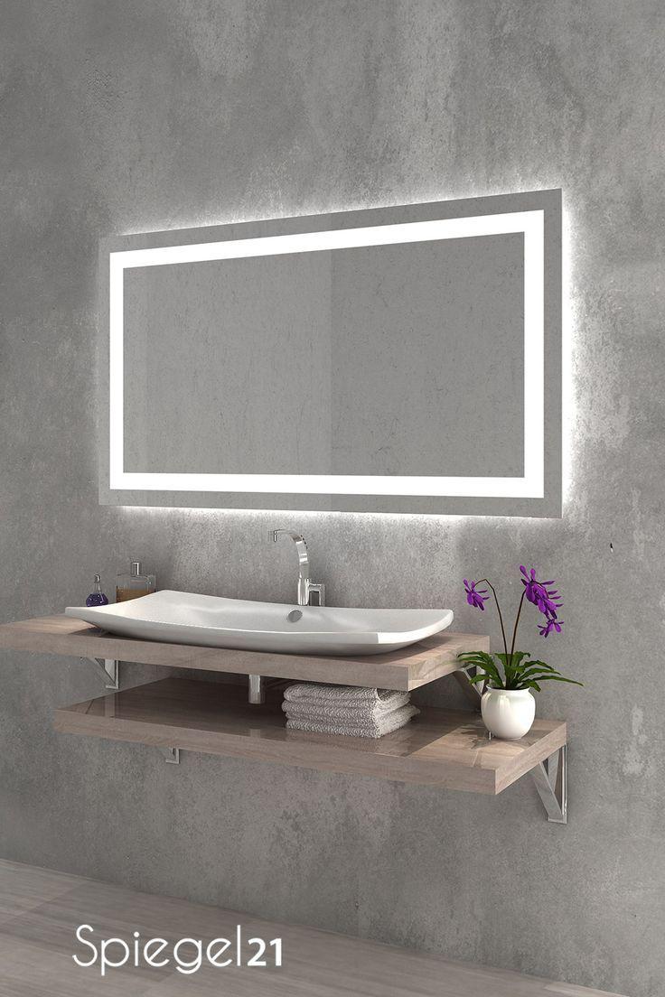 Led Spiegel Mit Beleuchtung Portau Badspiegel Mit Beleuchtung Led Mirrors Badspiegel Beleu Spiegel Mit Beleuchtung Led Spiegel Beleuchteter Spiegel