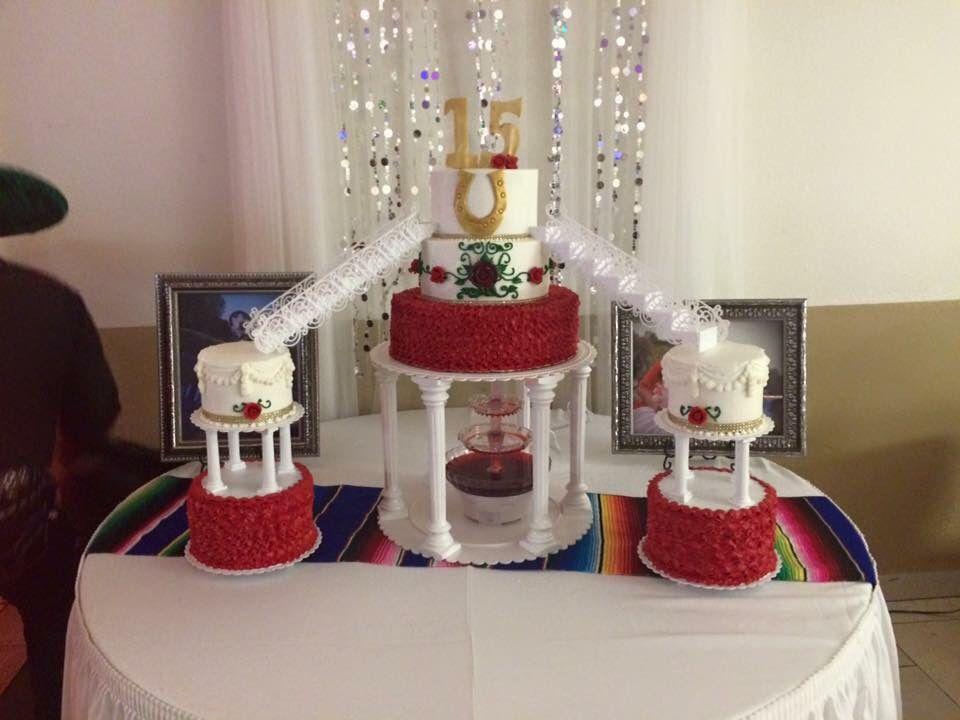 Graciela's Cake by Memorable Designs by Alma- Denver, CO