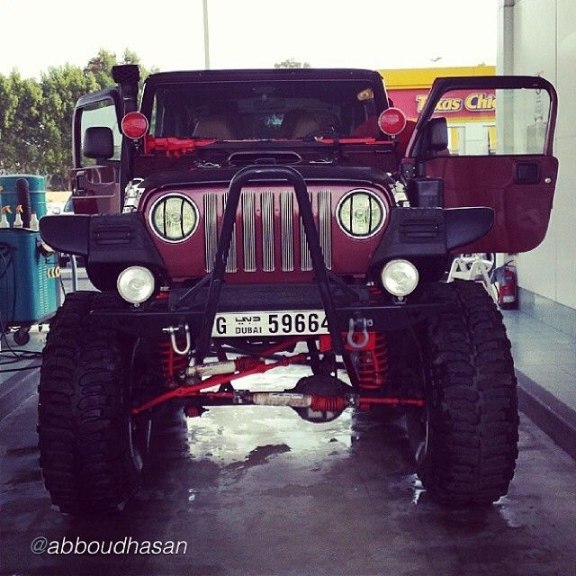 By Abboudhasan New Pic Jeep Wrangler Tj Lifted Intake