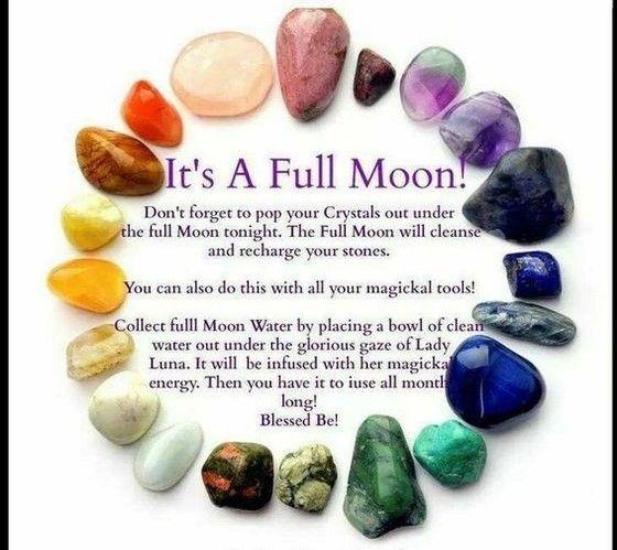 Full Moon Crystal Rituals