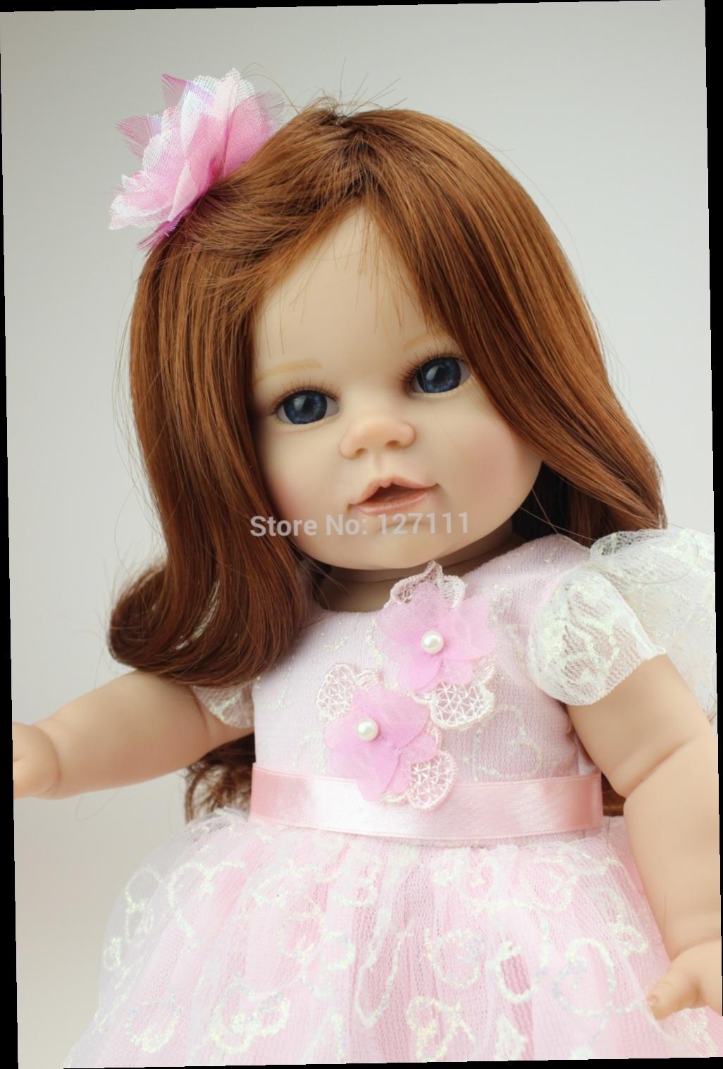 51.90$  Watch here - http://alikvk.worldwells.pw/go.php?t=32274207924 - New Boneca baby alive 18 inch girl dolls with fashion dress girl birthday gift Valentine's Day American dolls brinquedos meninas