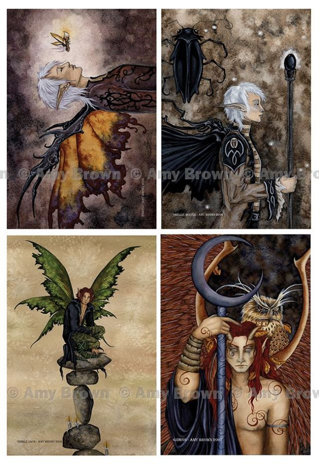 A new postcard set arrived yesterday. There are now 3 male faery postcard sets. http://www.amybrownart.com/g_pgall.asp?g=238