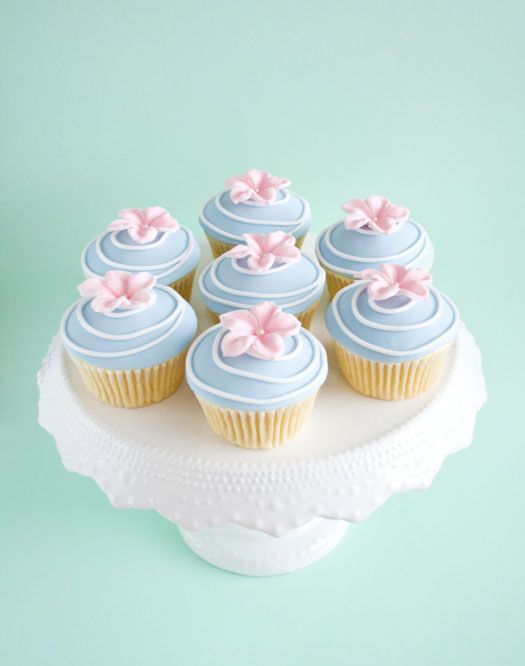 The cupcake flower