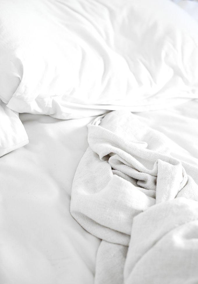 White BeddingonlyLove For the Home Pinterest White