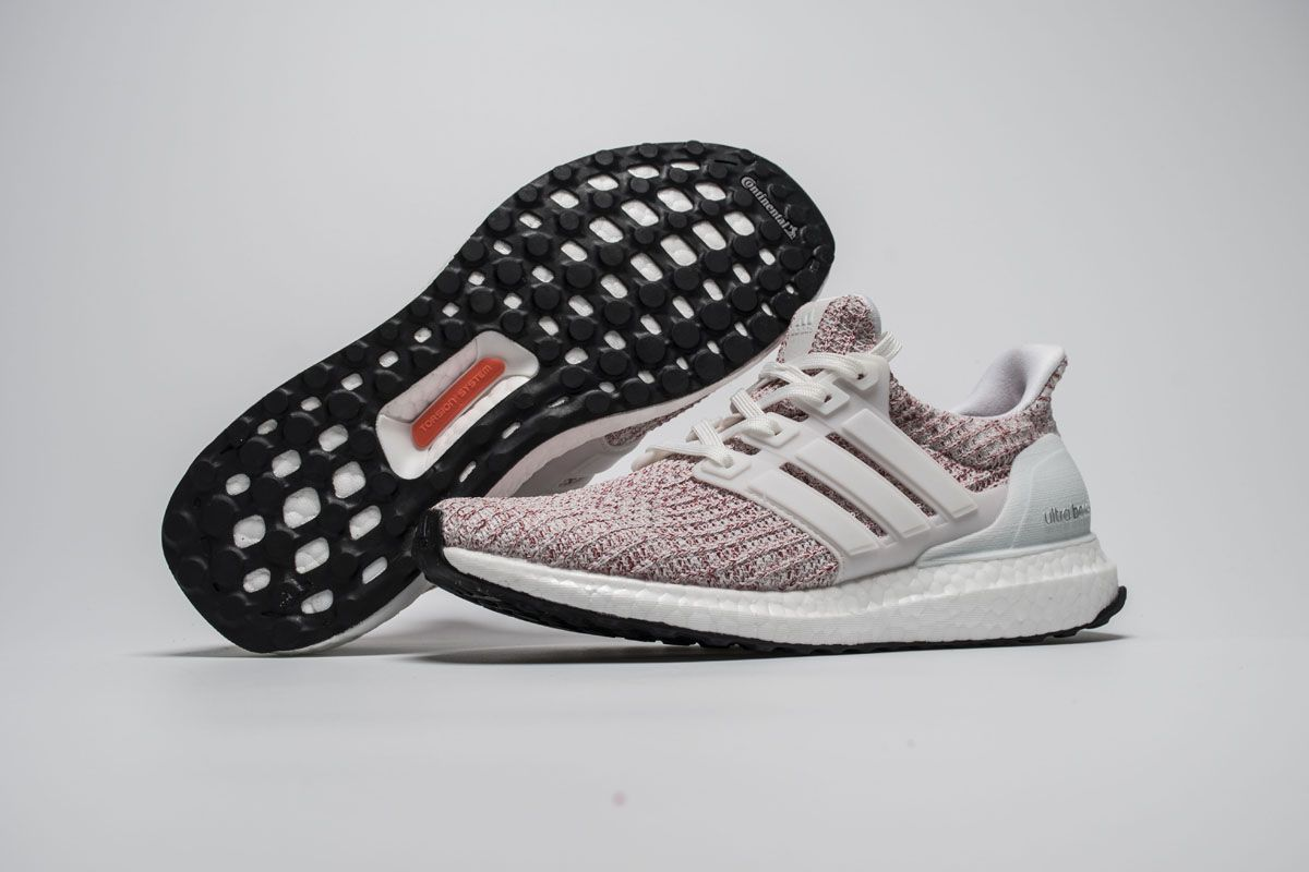 891a8f6c08c3e Adidas Ultra Boost 4.0 White Red BB6169 Real Boost4