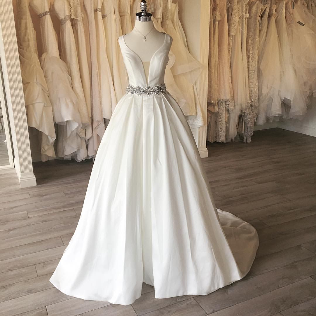 Calla Blanche Paulette Gown In 2020 Wedding Dresses Wedding