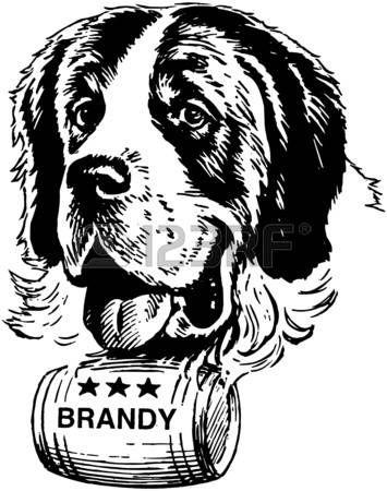 ink drawing st bernard google search artsy dogs pinterest