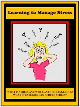 Stress Management Lesson.                                Life Skills Lesson. Health Lesson. https://www.teacherspayteachers.com/Product/Stress-Stress-Management-Life-Skills-Health-2702487