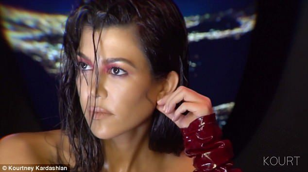 Kourtney Kardashian Gets Naked For New V Magazine Spread