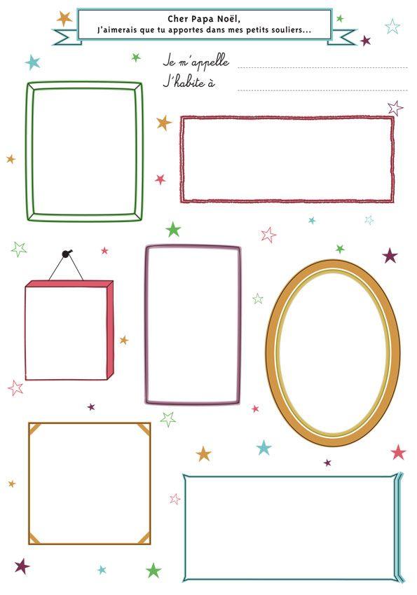 Liste de no l enfant t l charger sur abracadacraft lien dans l 39 article christmas free - Liste pere noel imprimer ...