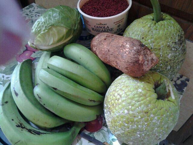 Name Verdura: Verduras Puertorrquenas,con Bacalao,mmmmm!!!!