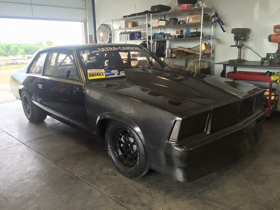 Krusty Ramseys 79 Malibu Outlaw 85 Car Featuring Our 1 Piece Nose 4 Cowl Hood He Also Runs Out Pin On Trunk Lid 16 Seat And A Carbon Motor Plate