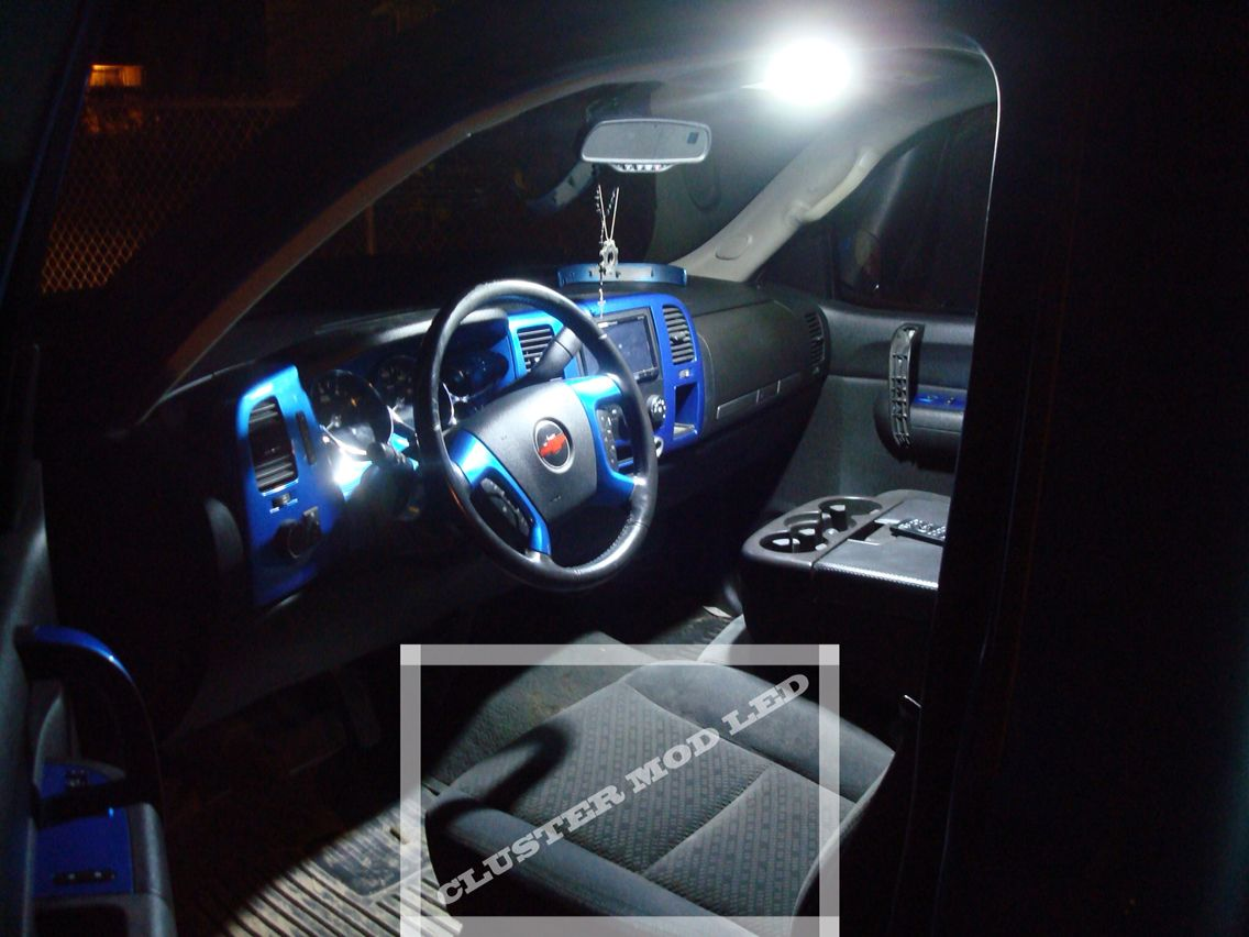 2010 Chevrolet Silverado Single Cab Interior Map Led Lighting Upgrade Led Mod Pinterest