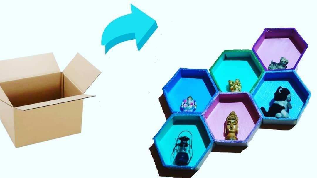 Cardboard shelves/ hexagon shelves / wall art... New video is up on channel... Do watch... Link in bio.... #cardboardcrafts #hexagonshelf #shelvesdesign #shelvesdecor #shelvesdesign #shelvingideas #cardboardfurniture #cardboardcreations #cardboardcraft #shelfdecor #diyhomedecor #diy #diycrafts #diycrafts #crafty #cardboardshelves Cardboard shelves/ hexagon shelves / wall art... New video is up on channel... Do watch... Link in bio.... #cardboardcrafts #hexagonshelf #shelvesdesign #shelvesdecor # #cardboardshelves